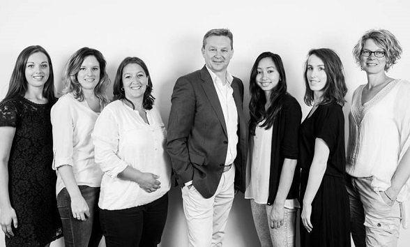 Teamfoto DLSR vestiging Breda